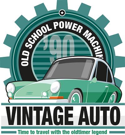 Oldschool car