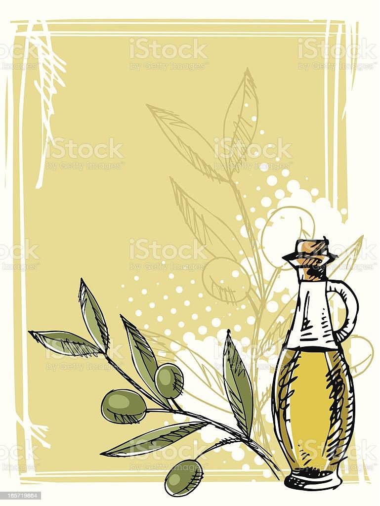 oliva oil royalty-free stock vector art