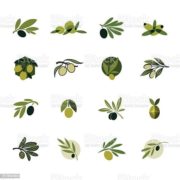 Olive branch set of vector design templates and icons vector id512630354?b=1&k=6&m=512630354&s=612x612&h=8d 9drt6jgglk rd2z7zaexa3cflhrcrdxd7pzlpvgk=