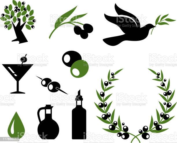 Olive collection black and white royalty free vector icon set vector id117833583?b=1&k=6&m=117833583&s=612x612&h=hv1zm5zz8 snlnv2vkubiwozkhcnl2vhojmo5psvnoa=