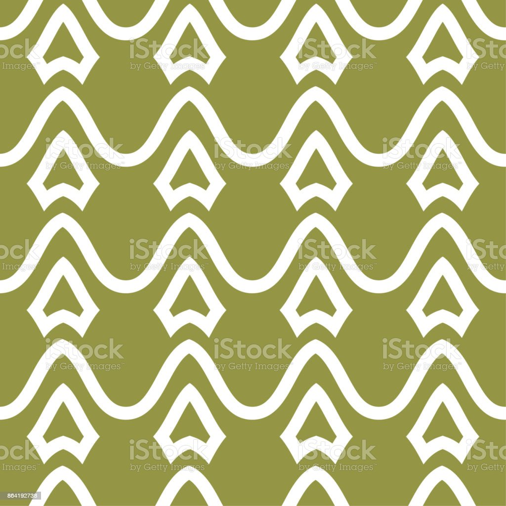 Olive green and white geometric seamless pattern royalty-free olive green and white geometric seamless pattern stock vector art & more images of abstract
