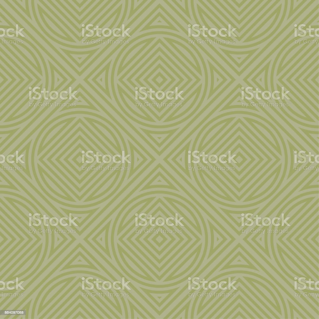 Olive green geometric print. Seamless pattern royalty-free olive green geometric print seamless pattern stock vector art & more images of abstract