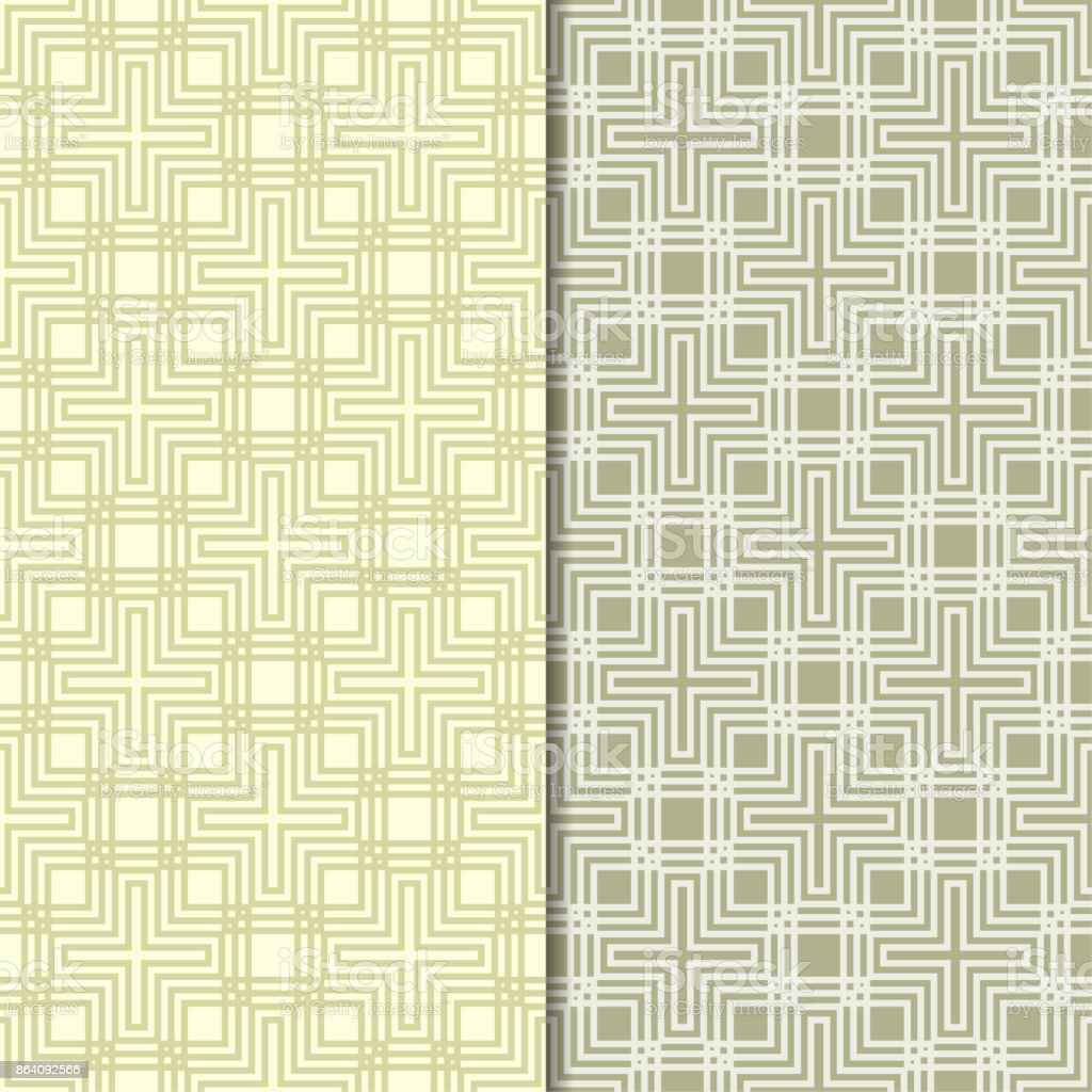 Olive green geometric seamless patterns royalty-free olive green geometric seamless patterns stock vector art & more images of abstract