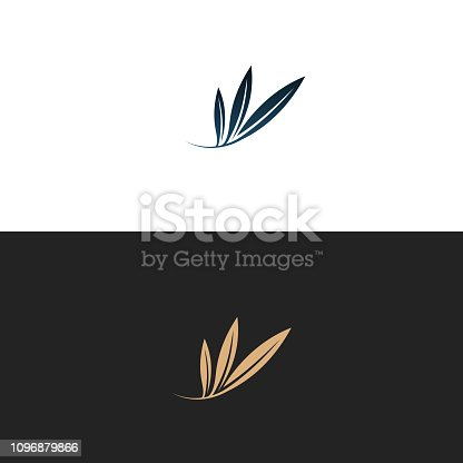 Unique olive logo which can help your business to grown up