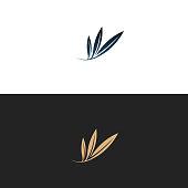 Olive logo, illustration, vector