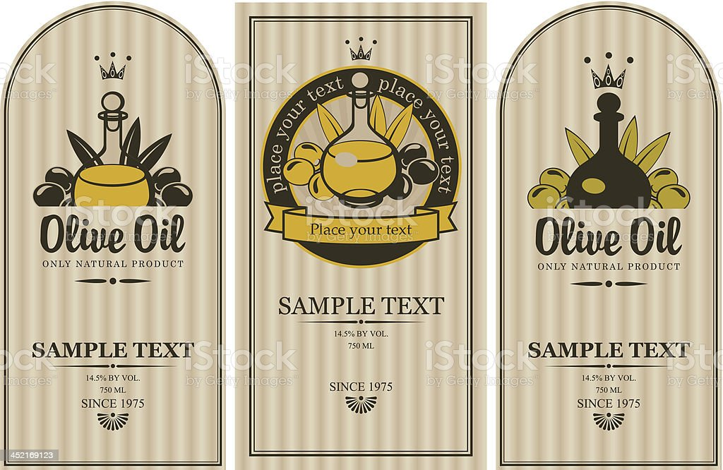 olive oils royalty-free stock vector art