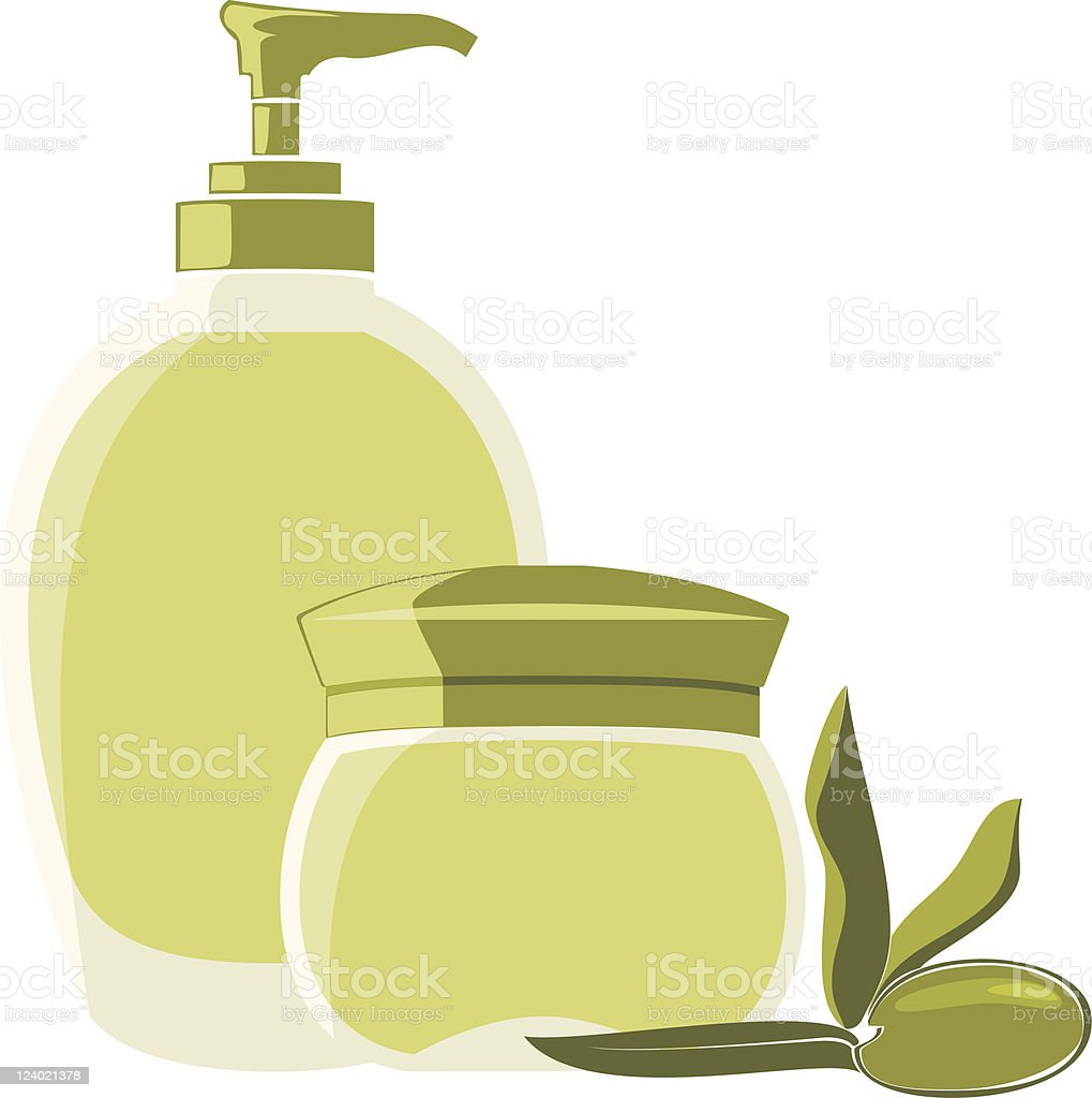 Olive Oli royalty-free stock vector art