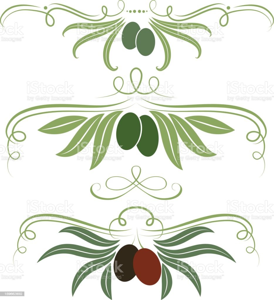 Olive ornament royalty-free olive ornament stock vector art & more images of antioxidant