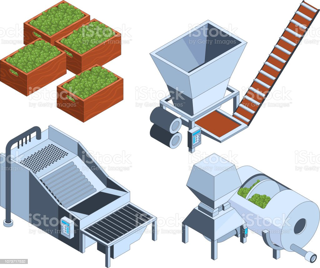 Olive Production Oil Plants Extraction Technology Farm Tanks