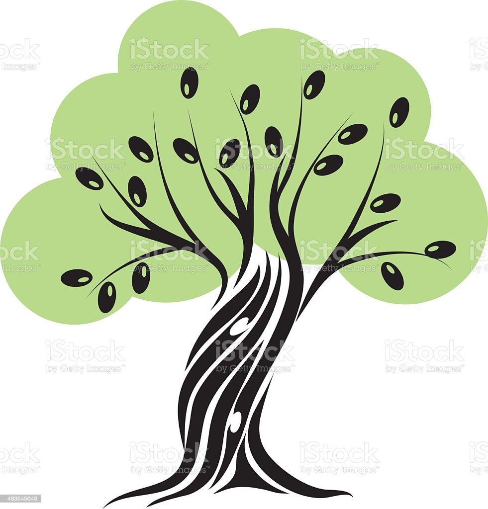 olive tree stock vector art 483545649 istock