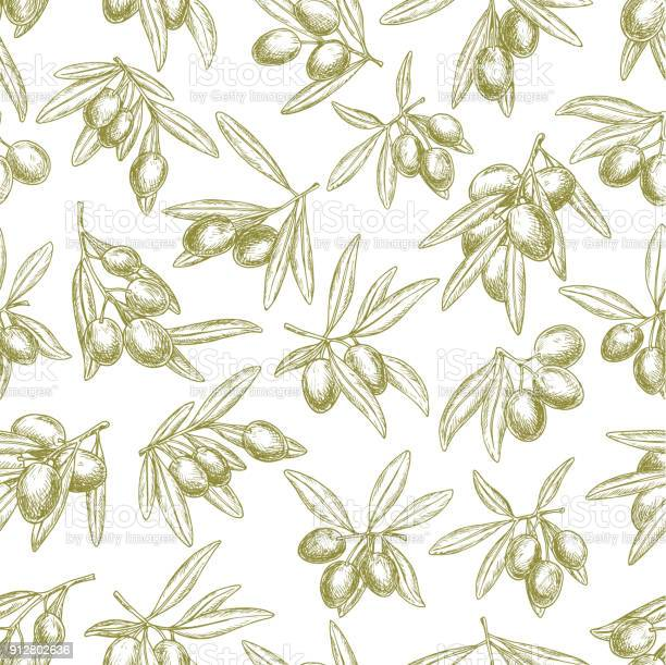Olives branches on olive vector seamless pattern vector id912802636?b=1&k=6&m=912802636&s=612x612&h=shwprqrfavxo pddwdxz3njgkqvgokt48h0ldxc jz0=