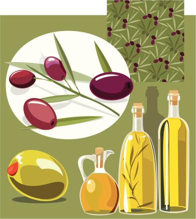 Olives Set of four