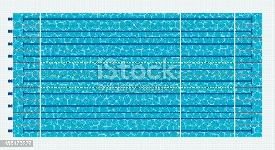 Olympic size swimming pool stock vector art more images of aquatic sport 455475277 istock - Olympic size swimming pool dimensions ...
