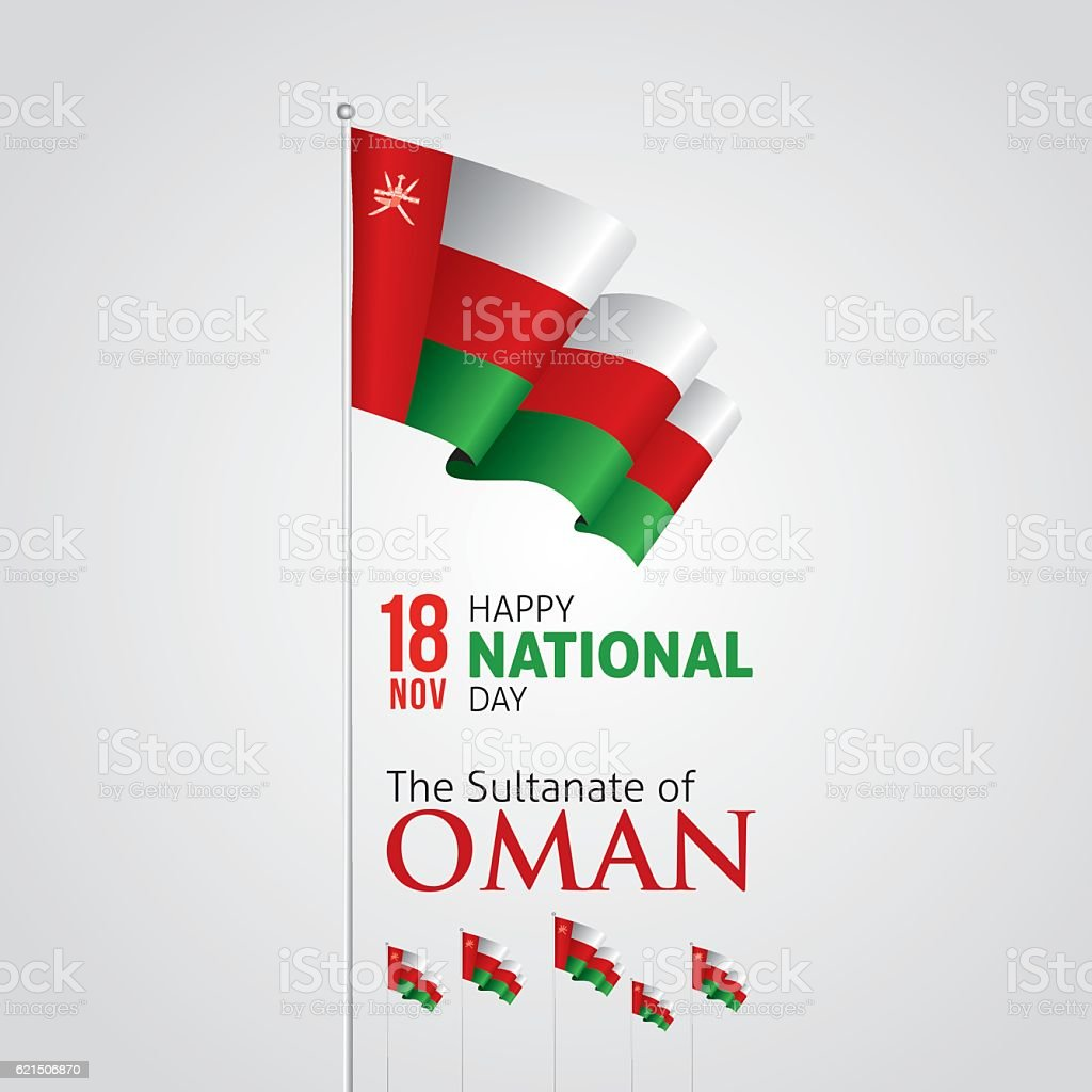 Oman National Day oman national day - immagini vettoriali stock e altre immagini di astratto royalty-free