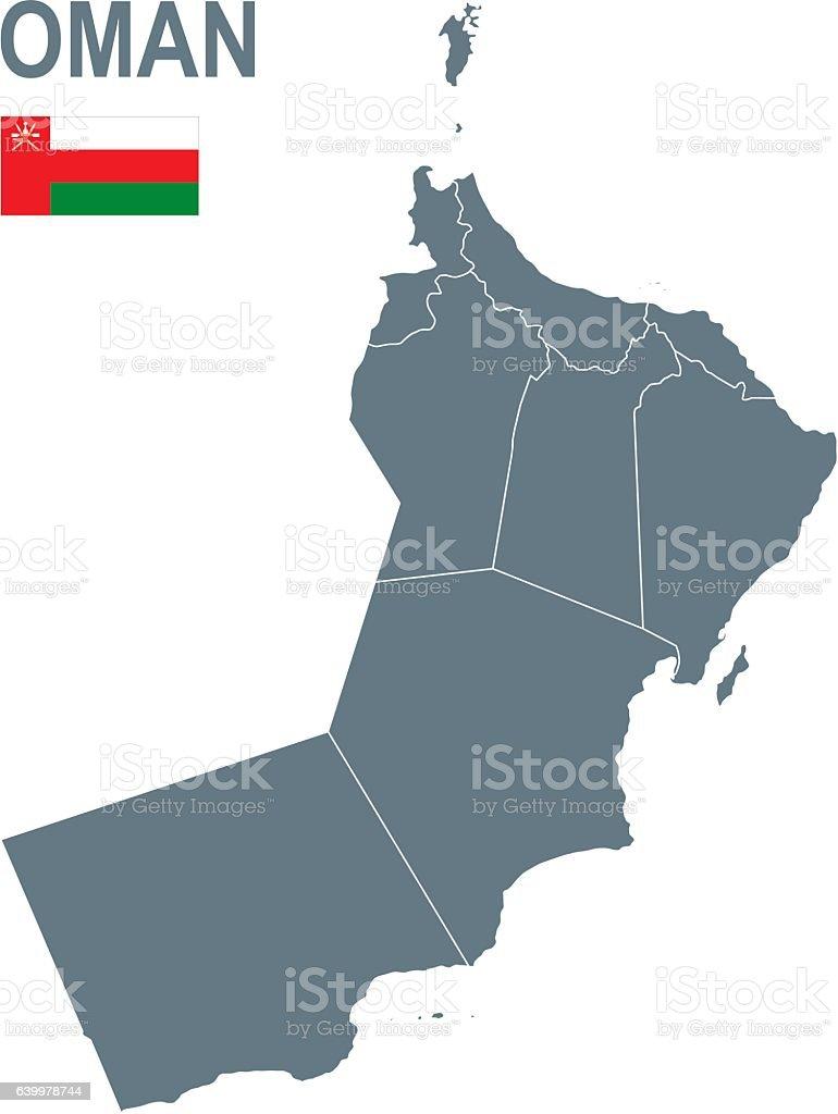 Oman vector art illustration