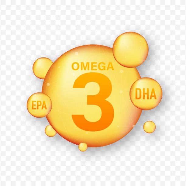 bildbanksillustrationer, clip art samt tecknat material och ikoner med omega fettsyror, epa, dha. omega tre, naturliga fiskar, växter olja. vektorlagerillustration. - omega 3
