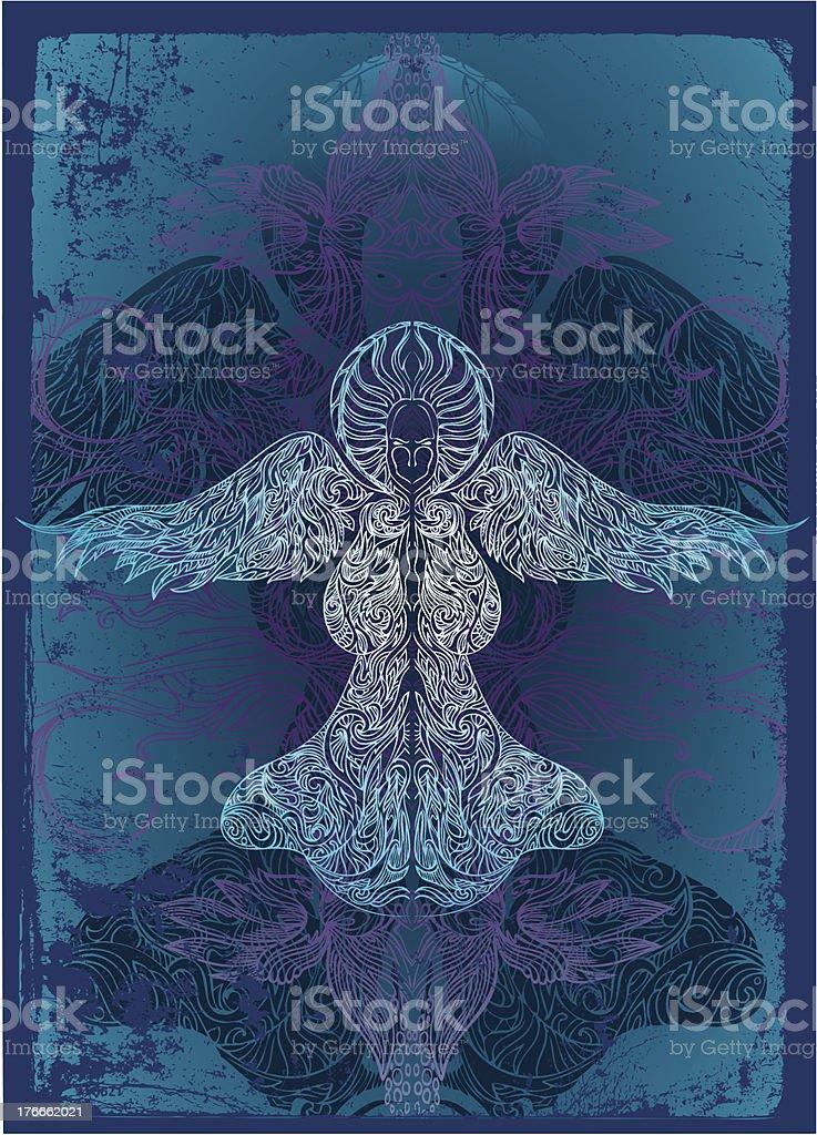ominous angel royalty-free ominous angel stock vector art & more images of angel