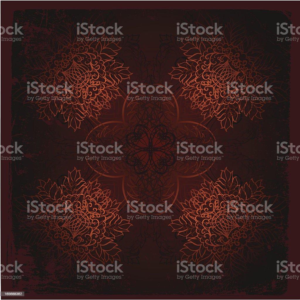 ominous mandala royalty-free stock vector art