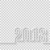istock 2018 on blank background 861172036