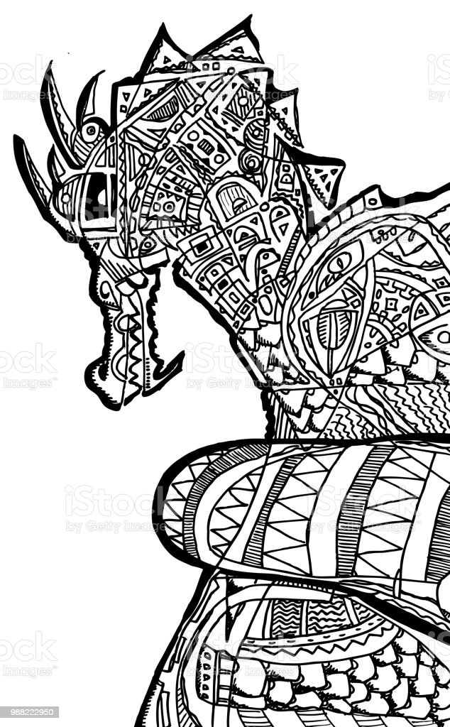 Coloring Pages Dragon Riders
