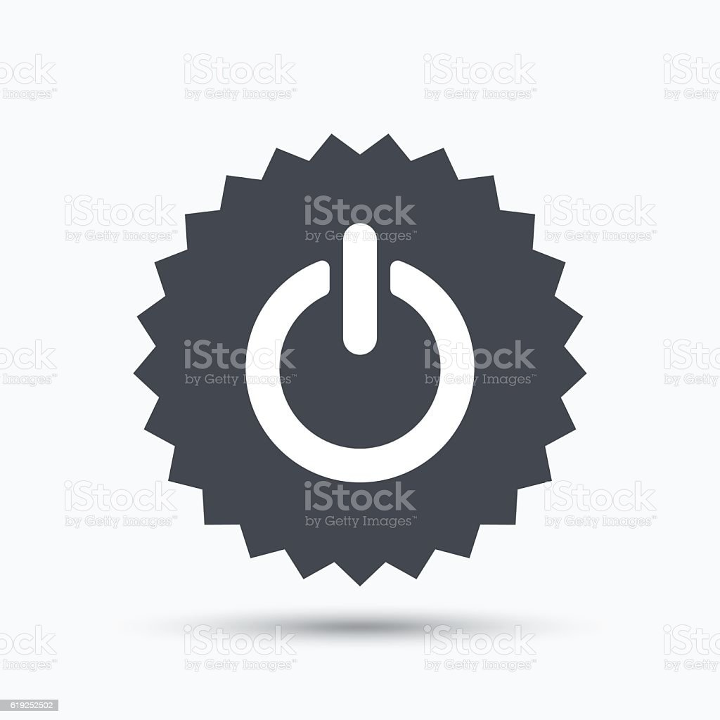 On Off Power Icon Energy Switch Sign Stock Vector Art & More Images ...