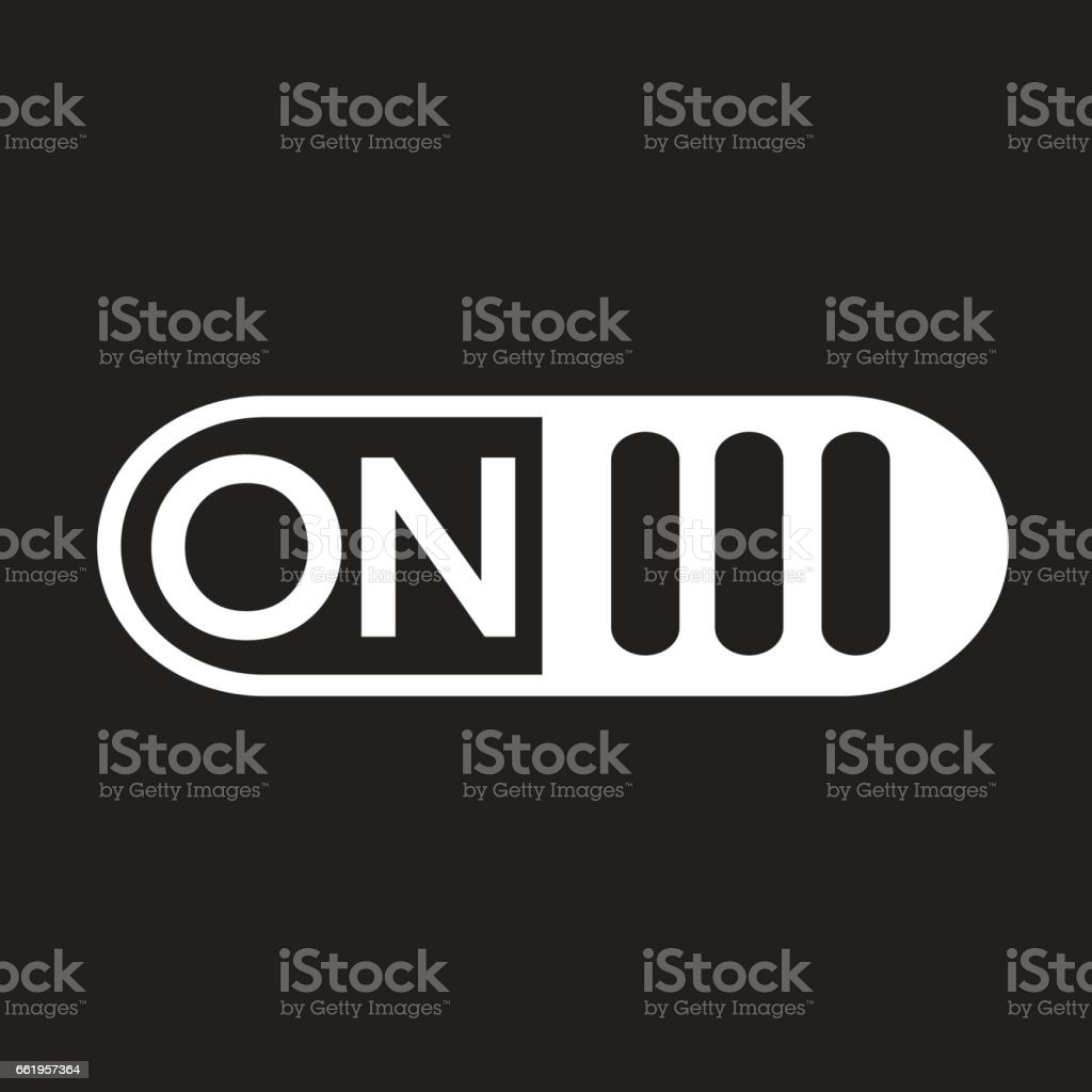 On Off switch button icon royalty-free on off switch button icon stock vector art & more images of business