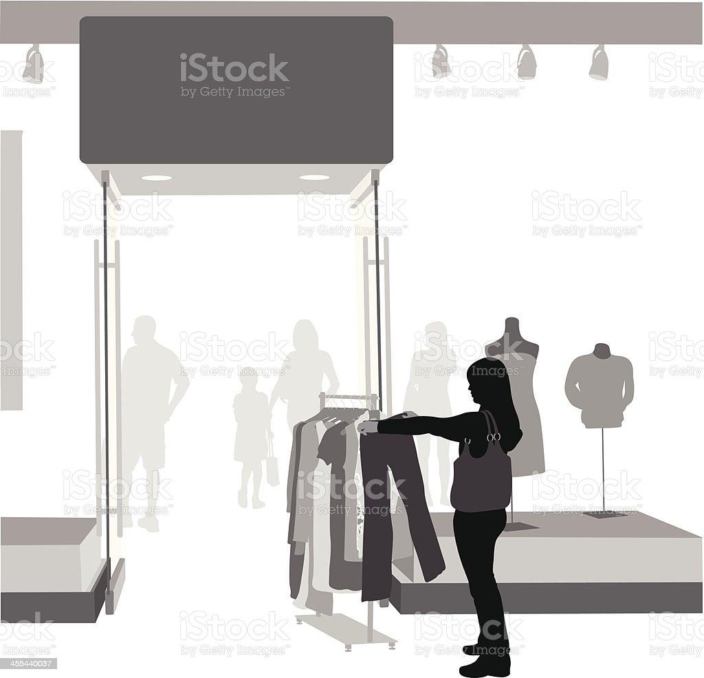 On Sale Vector Silhouette vector art illustration