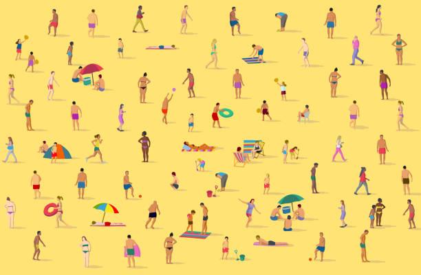 illustrations, cliparts, dessins animés et icônes de sur la plage - transat