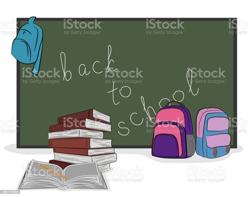 En la junta escolar escrita