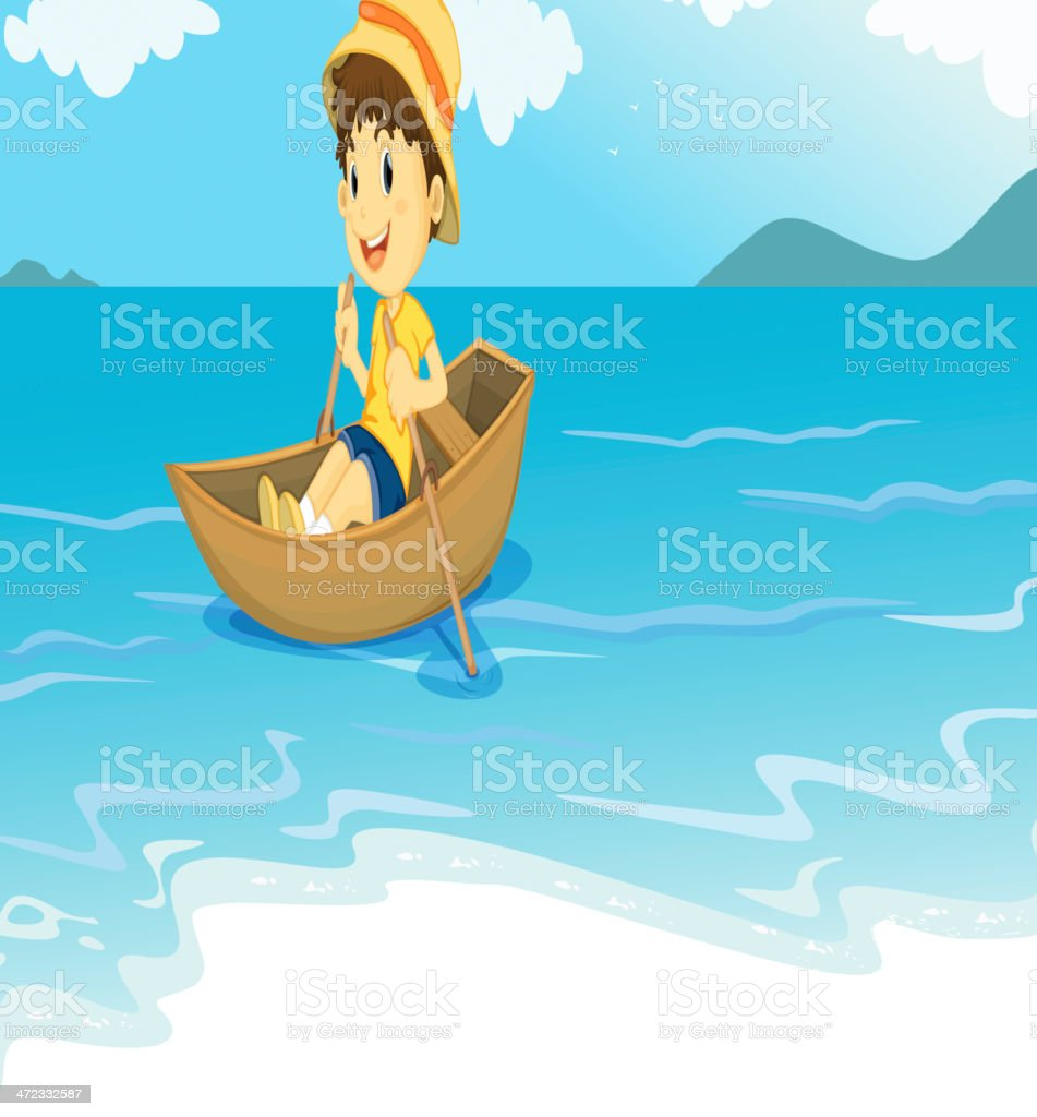 On the water royalty-free on the water stock vector art & more images of beach