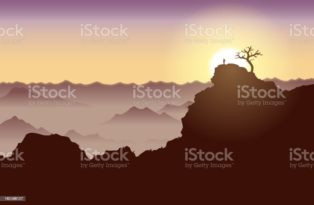 On Top of the World royalty-free on top of the world stock vector art & more images of adult