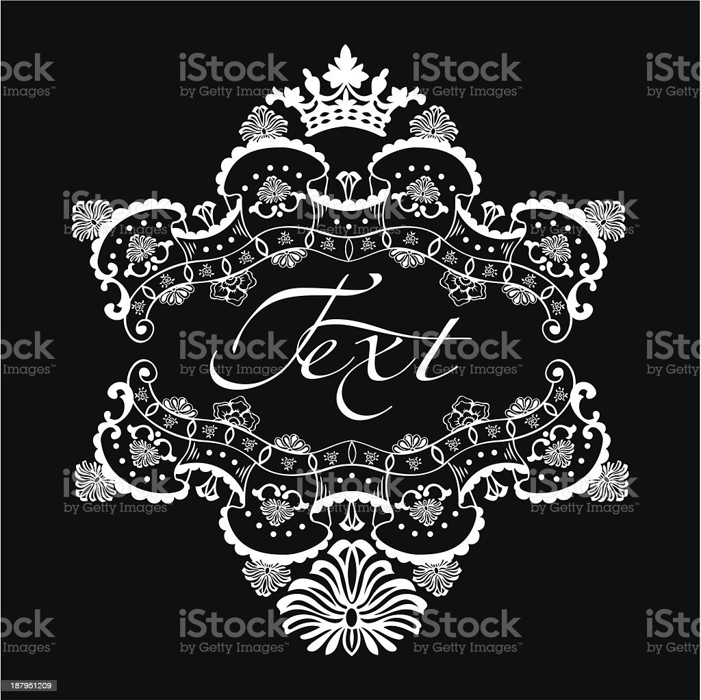 one color ornate quad text banner stock vector art more images of Repair Torn Quad Muscle one color ornate quad text banner royalty free one color ornate quad text banner stock