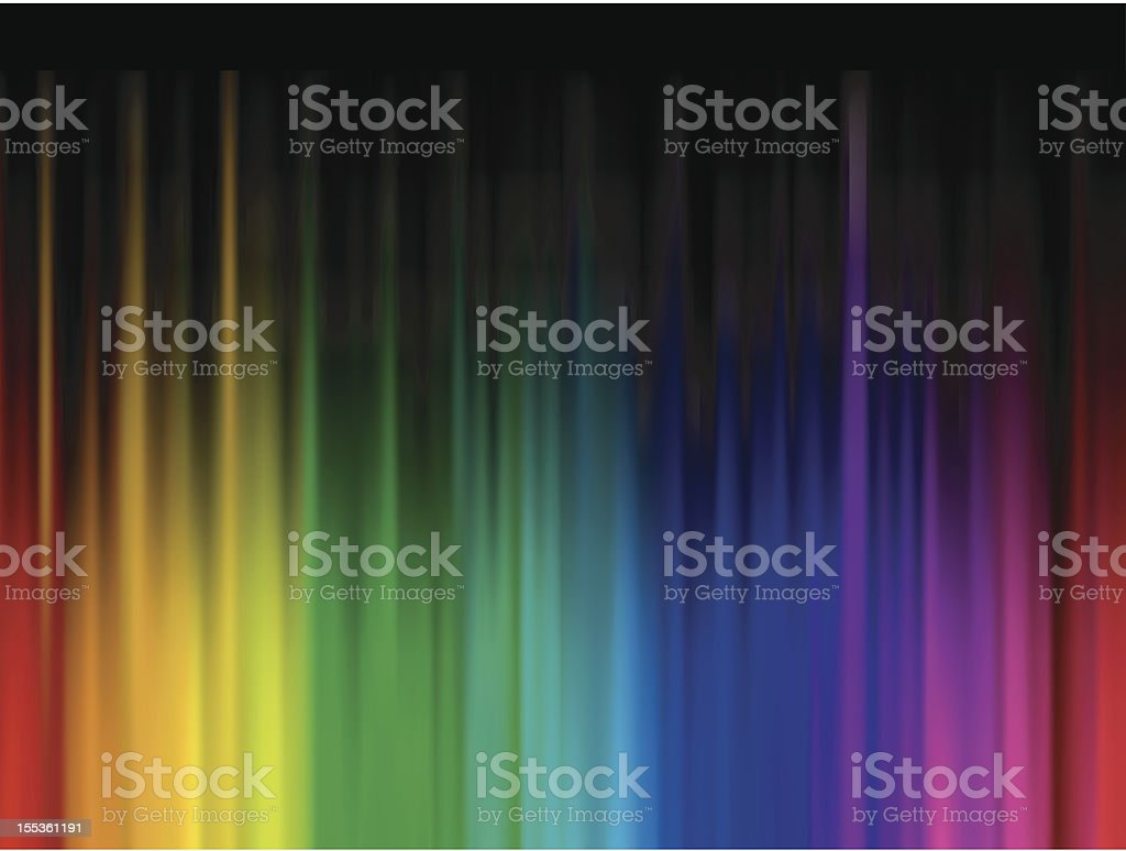 One Credit - Multicolor Abstract Background royalty-free stock vector art