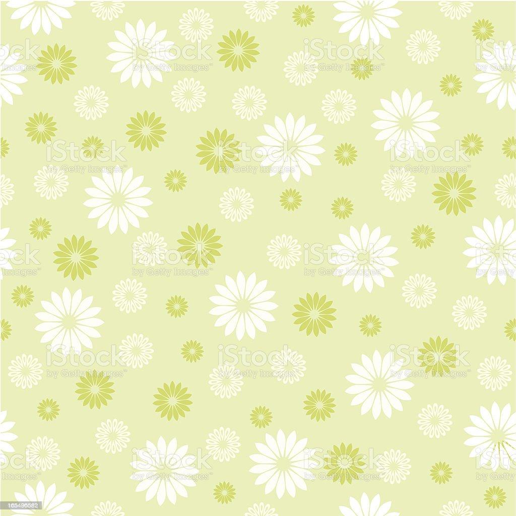 One credit spring seamless pattern vector art illustration