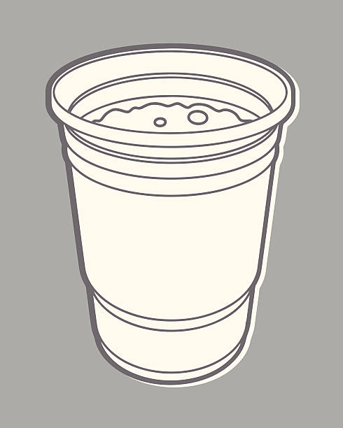 one cup - bachelor party stock illustrations, clip art, cartoons, & icons