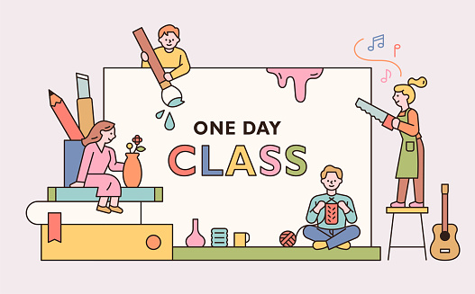 One day class hobby life