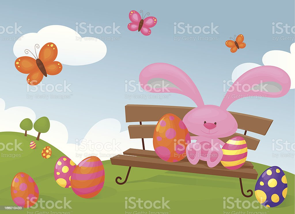 One Happy Bunny royalty-free one happy bunny stock vector art & more images of animal