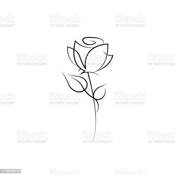 One line rose design hand drawn minimalism style vector vector id1138165274?b=1&k=6&m=1138165274&s=612x612&h=zms6a 6jdpqvtqocvw5aykyhywvomyblurqvvplfx6a=