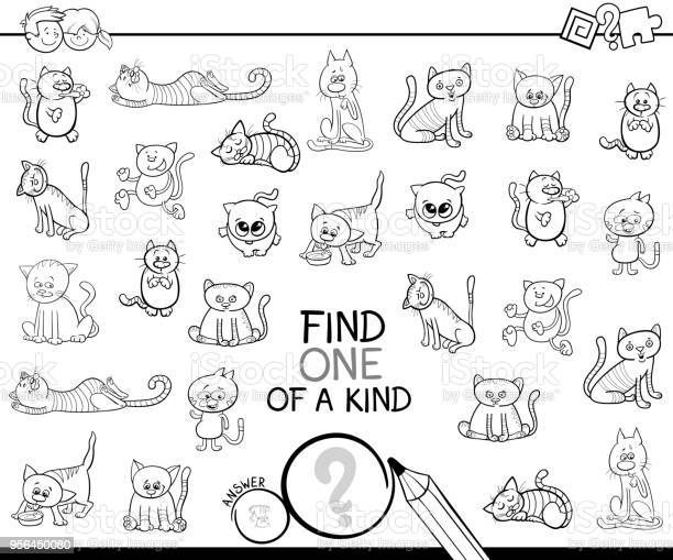 One of a kind game with cats color book vector id956450080?b=1&k=6&m=956450080&s=612x612&h=sasdclxi3oywxbrt5f vzgopm9w9acoglcolf4q6gli=