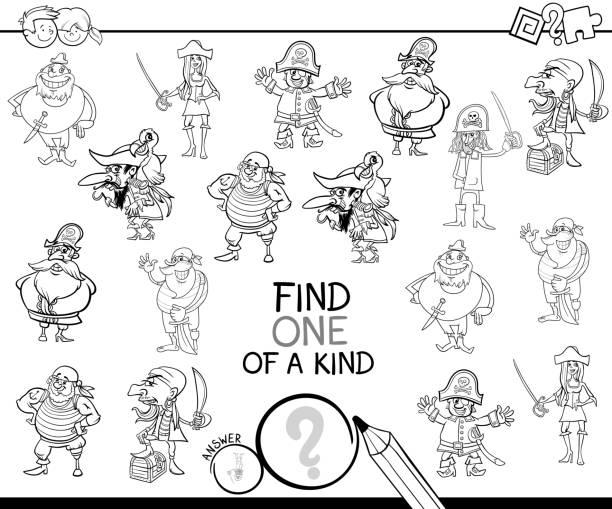 Piraten Kindergarten Themen Vektorgrafiken und Illustrationen - iStock