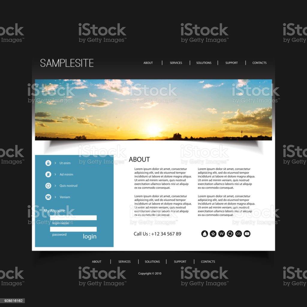 Ausgezeichnet Leere Website Vorlage Ideen - Entry Level Resume ...