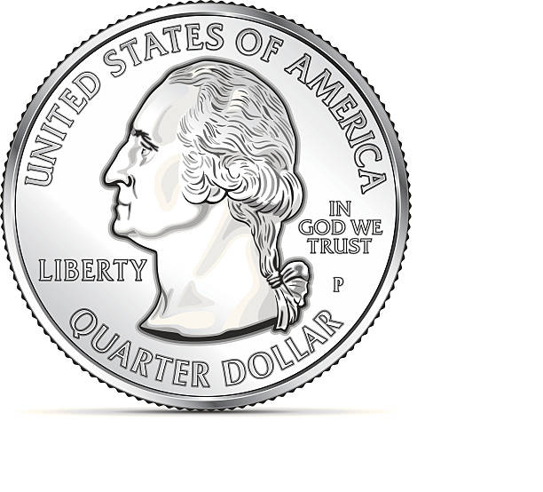 royalty free us coins clip art vector images illustrations istock