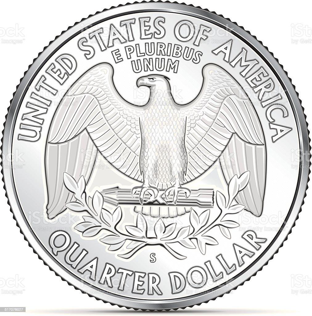 Royalty Free Quarter Clip Art, Vector Images ...