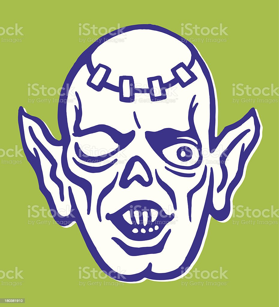 One-Eyed Monster royalty-free oneeyed monster stock vector art & more images of animal