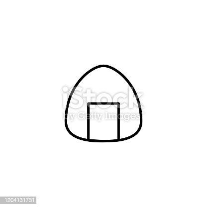 istock onigiri japanese food icon vector illustration 1204131731