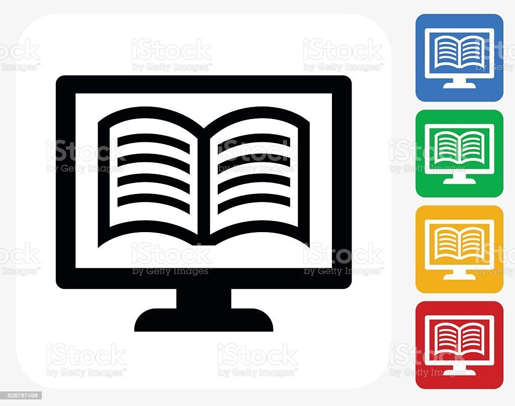 Onlinebuchung Symbol Flaches Grafikdesign Stock Vektor Art und mehr ...