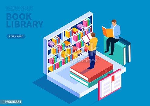 Online bookshelf, online education courses, online training courses