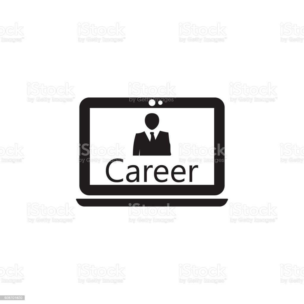 online career growth icon detailed icon of head hunting and employee icon premium quality