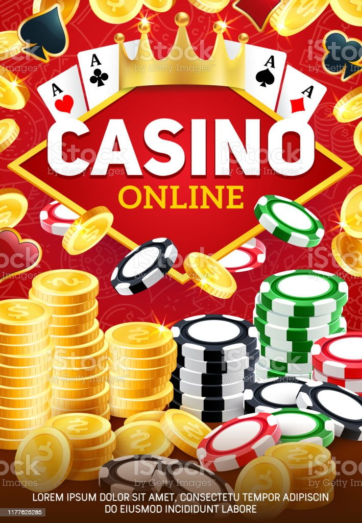Online Casino And Betting Chips Gambling Game Stock Illustration Download Image Now Istock