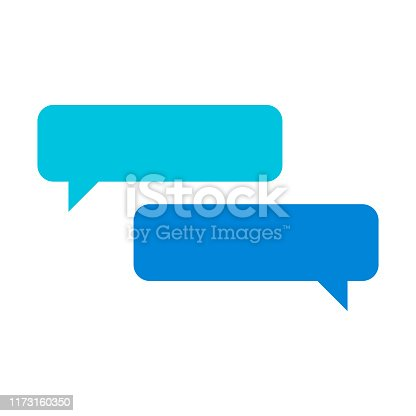 Vector illustration of a set of online chat designs, ideal for design projects, social media ideas and concepts and mobile apps and online messaging platforms.